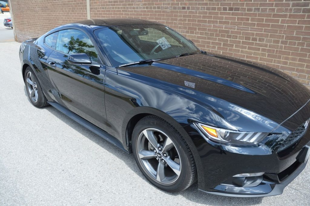 Ford Mustang Wrap Toronto - Front