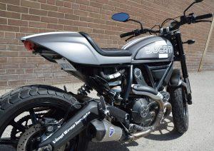 Car Wrap - Motorcycle, Bike Full Wrap - Decal - Vehicle Wrap, Graphic - Ducati Motorcycle Wrap Back- Vinyl Wrap Toronto
