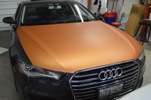 Partial Car Wrap - Vehicle Graphic, Vehicle Wrap, Graphic design - Front Hood Wrap, Decal, Car Wrap