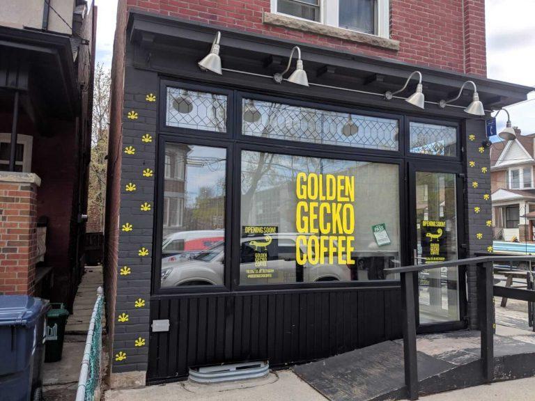 Brick Wrap Toronto, Signage, Wall Wrap Golden Gecko, Window Decal - Vinyl Wrap Toronto