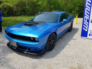 Mopar Show - Blue Chrome Wrap | Vinyl Wrap Toronto - Vehicle Wrap In Toronto - Print Shop