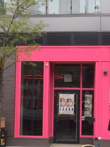 Pink Storefront Wrap   Vinyl Wrap Toronto - Vehicle Wrap In Toronto - Print Shop