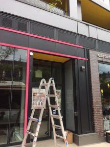 Storefront Wrap in Pink   Toronto   Vinyl Wrap Toronto - Vehicle Wrap In Toronto - Print Shop