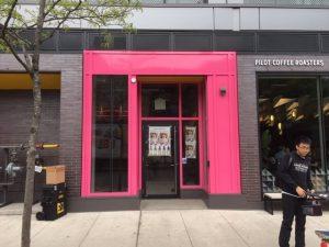 Storefront Wrap Toronto - Pink Store   Vinyl Wrap Toronto - Vehicle Wrap In Toronto - Print Shop