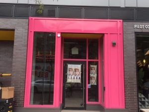Storefront Wrapping Toronto - Pink Wrap Signage   Vinyl Wrap Toronto - Vehicle Wrap In Toronto - Print Shop