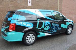 Vinyl Wrap Toronto - Vehicle Wrap In Toronto - Print Shop - Do Home Health Care - Avery Dennison