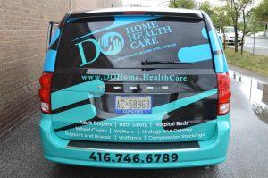 Vinyl Wrap Toronto - Vehicle Wrap In Toronto - Do Home Health Care Back