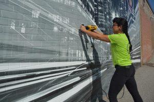 Anita - Vinyl Wrap Toronto - Vehicle Wrap In Toronto - 3M Vinyl Wall Application