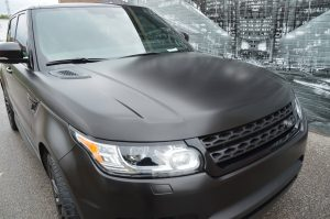Vinyl Wrap Toronto - Vehicle Wrap In Toronto - Range Rover Wrap - Full Car Wrap