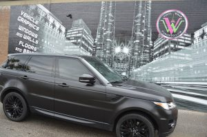 Vinyl Wrap Toronto - Vehicle Wrap In Toronto - Range Rover Wrap - Full Vehicle Wrap