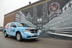 Vinyl Wrap Toronto - Vehicle Wrap In Toronto - Print Shop - Jewel Radio Front side