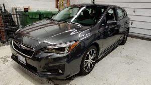 Vinyl Wrap Toronto - Vehicle Wrap In Toronto - Print Shop - Greenfield Subaru Before Front