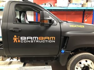 Vinyl Wrap Toronto International CV Series 2020 Avery Dennison Black Truck Full BamBam Main