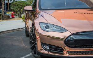 Vinyl Wrap Toronto Tesla Model S Conform Chrome Series Wrapping Film - Exotic Car Wrap
