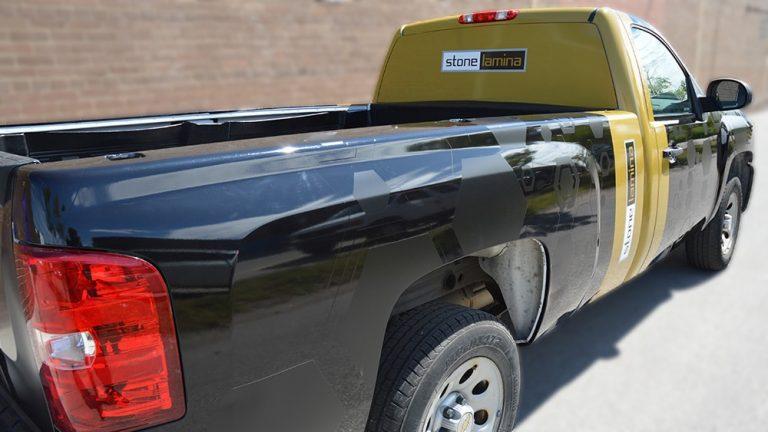 Chevrolet - Silverado - HD1500 - Full Truck Wrap - Stone Laming - Vinyl Wrap Toronto - Vehicle Wrap in GTA