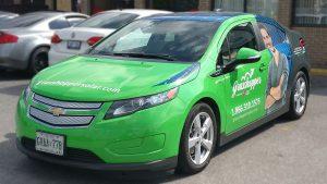 Chevrolet - Volt - Full Car Wrap - Grasshopper - Vinyl Wrap Toronto