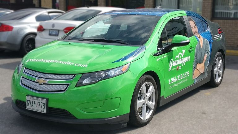 Chevrolet - Volt - Full Car Wrap - Grasshopper - Vinyl Wrap Toronto