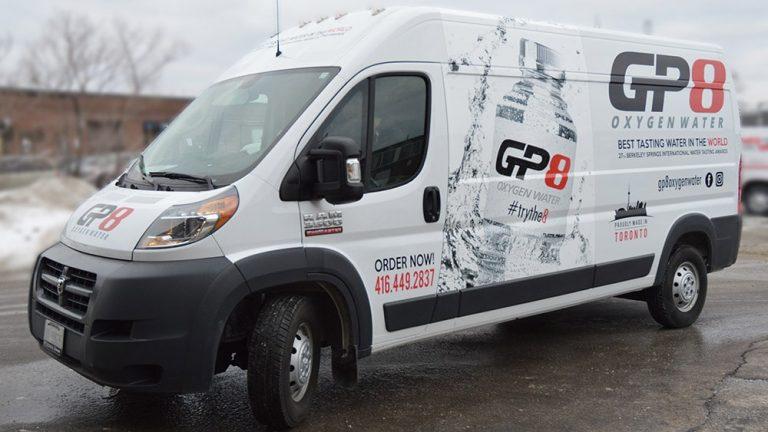 Dodge - Promaster - 2019 - Full Van Wrap - GP8 - Vinyl Wrap Toronto - Vehicle Wrap in GTA
