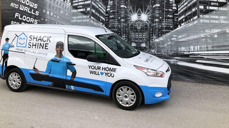 Ford Transit - CONNECT XLT - 2018_6 - Vinyl Wrap Toronto - Van Wrap, auto tinting, racing stripes, full wrap, Mississauga