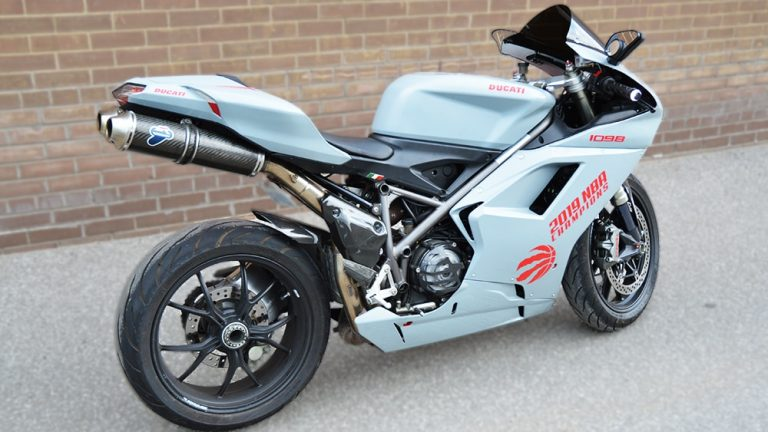 Full Wrap - Ducati motorcycle - Side 2 After - Vinyl Wrap Toronto - Lettering & Decals - Mississauga