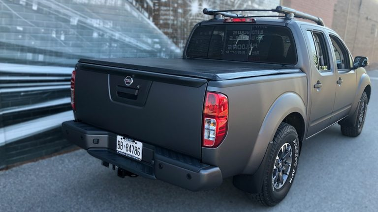 Full wrap - Nissan Frontier - side - Vinyl Wrap Toronto - Truck Wrap in Mississauga - Decals - Tinting - Paint Protection - Avery Dennison & 3M