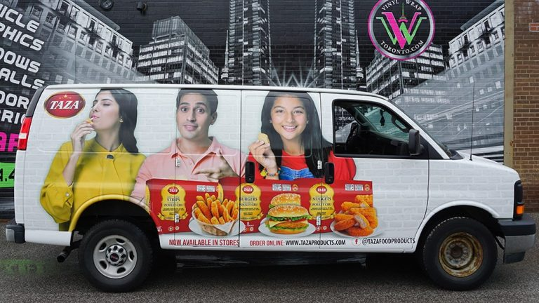GMC - Savana - 2016 - Full Van Wrap - Taza - Vinyl Wrap Toronto - Vehicle Wrap in the GTA