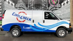 GMC - Savana - 2020 - Partial - CoolCheck - Vinyl Wrap Toronto - Vehicle Wrap in Etobicoke - Avery Dennison & 3M