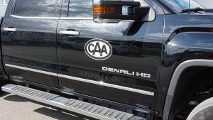 GMC - Sierra - Denali - 2020 - Decals - CAA - Lettering - Vinyl Wrap Toronto - Avery Dennison & 3M - Vehicle Wrap in Etobicoke