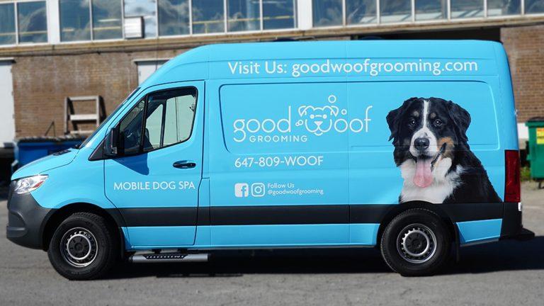 Good Woof - Full Van Wrap - Vinyl Wrap Toronto - Custom Vehicle Wrap in Brampton