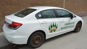 Honda - Civic - Car Lettering & Decals - Crossfit Kemptville - Vinyl Wrap Toronto - Commercial - Business