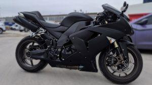 Kawasaki - Ninja - ZX-10R - Full - Personal - Vinyl Wrap Toronto - Racing Stripes - Avery Dennison & 3M - Vehicle Wrap in Mississauga