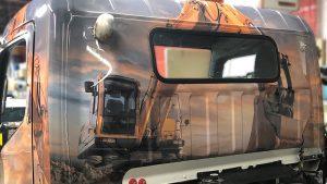 Mitsubishi - Fuso - 2018 - Full Truck Wrap - Back - RockBottom - Vinyl Wrap Toronto - Vehicle Wrap in Mississauga