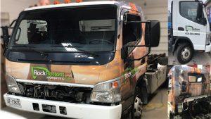 Mitsubishi - Fuso - 2018 - Full Truck Wrap - RockBottom - Vinyl Wrap Toronto - Vehicle Wrap in Scarborough