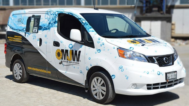 Nissan - NV200 - 2019 - Full - Metro Jet Wash - Vinyl Wrap Toronto - Vehicle Wrap in Scarborough - Custom Design