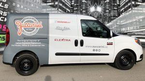 RAM - Promaster City - 2019 - Partial Van Wrap - Zuccarini - Vinyl Wrap Toronto - Vehicle Wrap in GTA - Avery Dennison & 3M