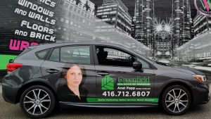 Vinyl Wrap Toronto - Vehicle Wrap In Toronto - Print Shop - Greenfield Subaru Side - Decals