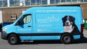 Good Woof - Full - Vinyl Wrap Toronto - Van Wrap - Vehicle Wrap In GTA