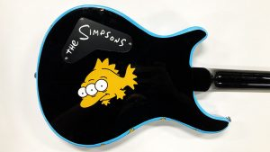 Guitar Wrap - The Simpsons - Blinky - Object Wrap - Avery Dennison - Custom Design - Etobicoke - Vinyl Wrap Toronto