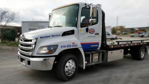 Hino 258 - 2019 - decals - CAA - Side front - after - Vinyl Wrap Toronto - Vehicle Wrap in Brampton - Truck Wrap