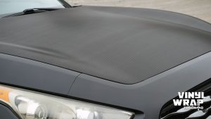 Infiniti FX50 - Partial Wrap - Carbon Fibre - Vinyl Wrap Toronto - Closeup -1 - Avery Dennison & 3M - Decals - Car Wrap in Brampton