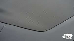 Infiniti FX50 - Partial Wrap - Carbon Fibre - Vinyl Wrap Toronto - Closeup - 2 - Lettering & Decals - Avery Dennison & 3M - Car Wrap in Vaughn