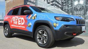 Jeep SUV - Grand Cherokee - Full Wrap - Avery Dennison