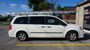 KCS - Dodge Grand Caravan - 2011 - Decals - BEFORE - Vinyl Wrap Toronto - Lettering & Decals - Vehicle wrap in GTA