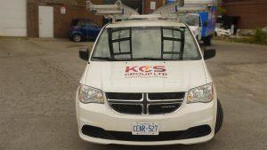 KCS - Dodge Grand Caravan - 2011 - Decals - front - Vinyl Wrap Toronto - Truck Wrap - Lettering & Decals
