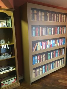 Murphy Bed - After - Vinyl Wrap Toronto - BookShelf - Custom Design - Equipment Wrap -