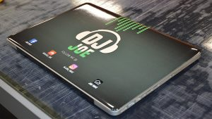 Object Wrap - Macbook Pro - Vinyl Wrap Toronto - DJ Joe - Custom Design - Equipment Wrap - GTA