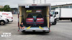 Personal Trailer Wrap - Moussa Tahlil - Vinyl Wrap Toronto - Vehicle Wrap in Etobicoke 1