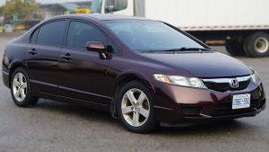 Honda Civic 2010 - Full Vinyl Wrap - After Front Side - Full Wrap