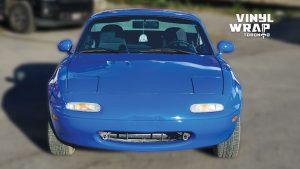 Mazda Miata 1990 - VinylWrapToronto.com - Full Wrap - Vinyl Wrap Toronto - Personal - After - Front