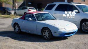 Mazda Miata 1990 - VinylWrapToronto.com - Full Wrap - Vinyl Wrap Toronto - Personal - Before
